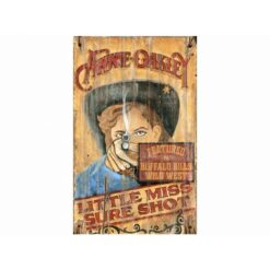 Annie Oakley Vintage Sign Custom