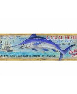Coral Hotel Vintage Sign
