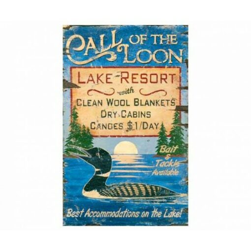 Custom Lake House Vintage Sign