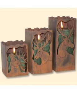 Elk Candle Holders