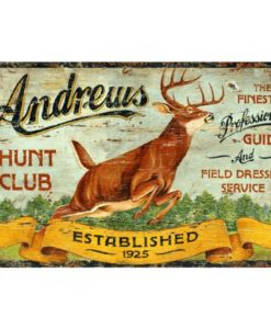 Hunting & Fishing Signs