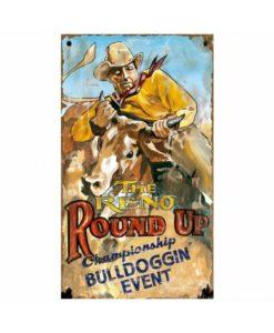 Custom Reno Rodeo Vintage Sign