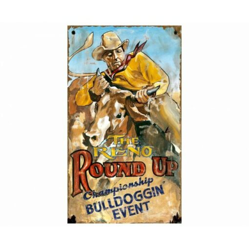 Custom Reno Rodeo Vintage Sign