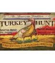 Turkey Hunt Custom Vintage Sign