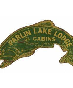 Custom vintage Fish Sign