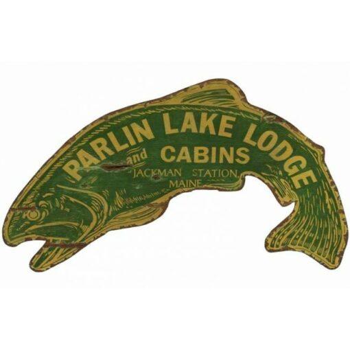 Custom vintage Fish Sign