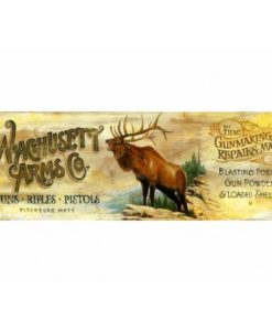 Wachusett Arms Vintage Sign custom