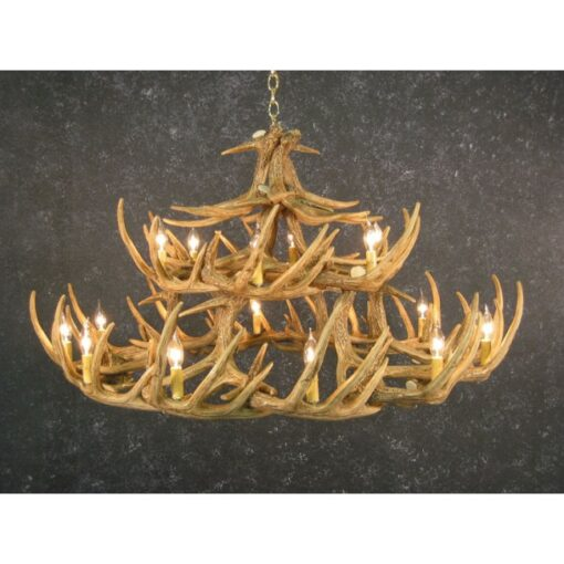 Whitetail 30 Antler Chandelier