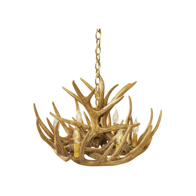 Whitetail Cascade Antler Chandelier