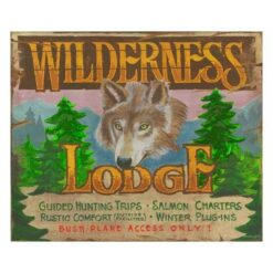 Custom Vintage Lodge Signs