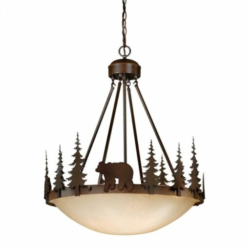 "Bozeman 24"" Pendant Burnished Bronze"