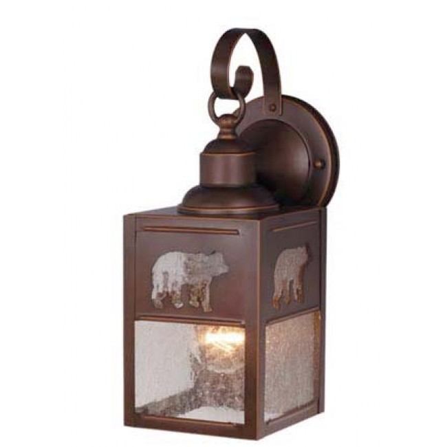 5 Quot Outdoor Wall Light Burnished Bronze Outdoor Cabin Light