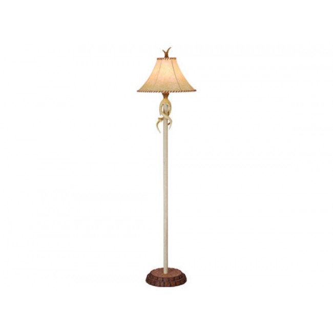 Lodge 16 table lamp nochian stone rustic cabin lamps fl33075ns vaxcel mozeypictures Choice Image