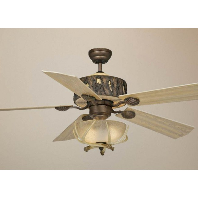 Log Cabin 52 Quot Ceiling Fan Weathered Patina Cabin Fans