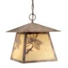 "Whitebark 11"" Outdoor Pendant Olde World Patina"