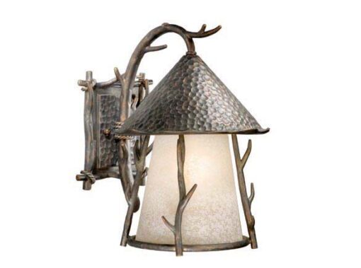 "Woodland 11"" Outdoor Wall Light Autumn Patina"