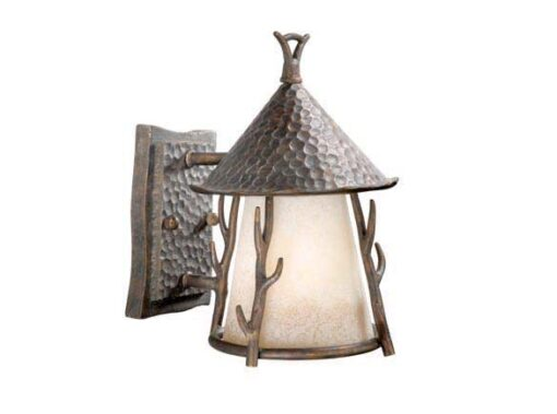 Woodland 7 Outdoor Pendant Autumn Patina Outdoor Light