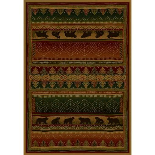 Bearwalk Cabin Rug