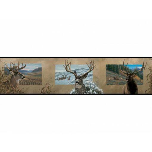 Deer Antler Border