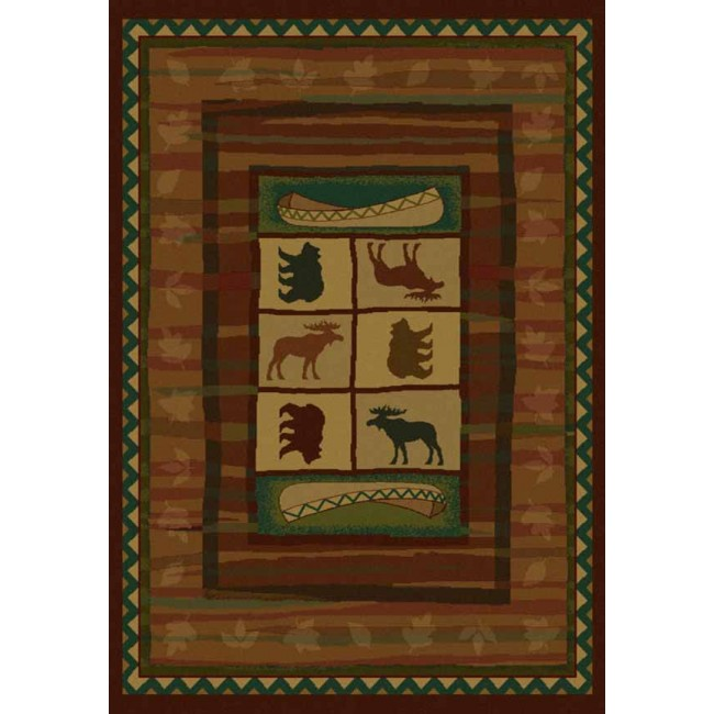 Wildlife Rugs And Rustic Cabin Rugs