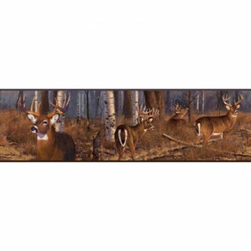 Lake Forest Lodge Deer Border