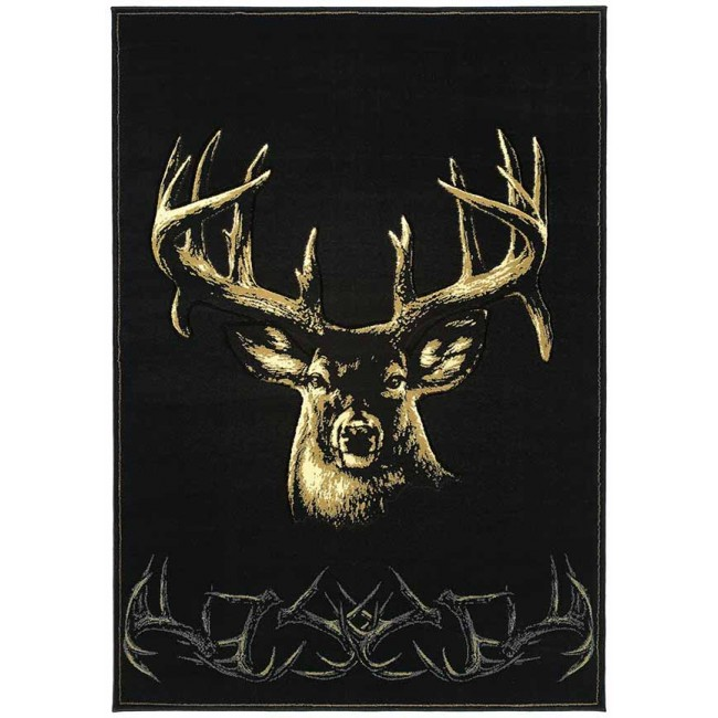 Moment Of Truth Onyx Cabin Rug