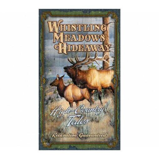 Custom Vintage Hunting Sign