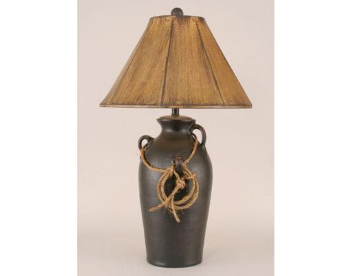 3-Handle Pot w/Lasso Table Lamp