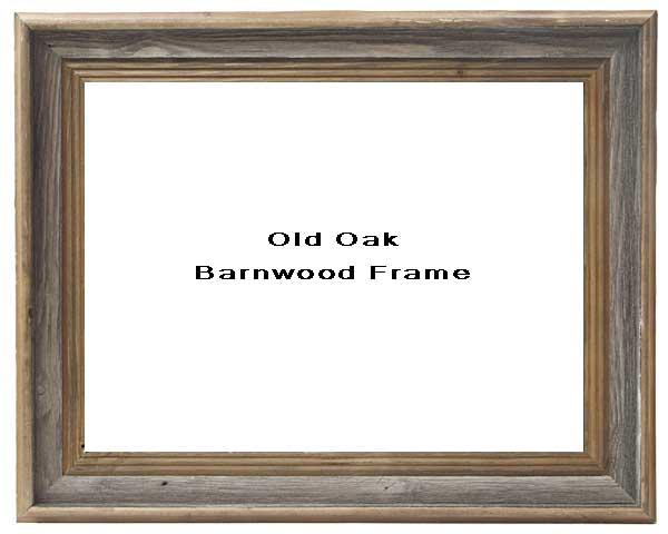 Old Oak Barnwood Frame