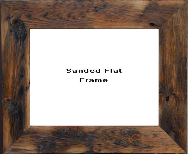 Sanded Flat Frame