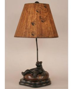 Bear in Inner Tube Lamp
