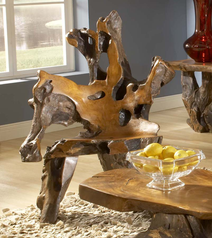 Bighorn Root Chair
