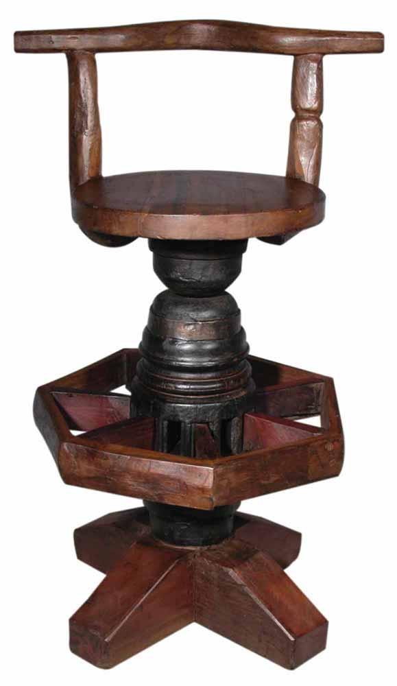 Bovine Bar Chair