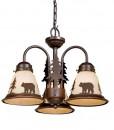 Bozeman 3L Light Kit Burnished Bronze - Bear