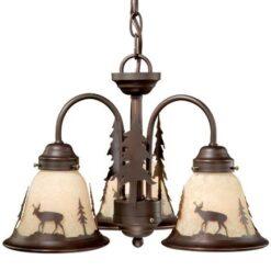 Bryce 3L Light Kit Burnished Bronze - Deer
