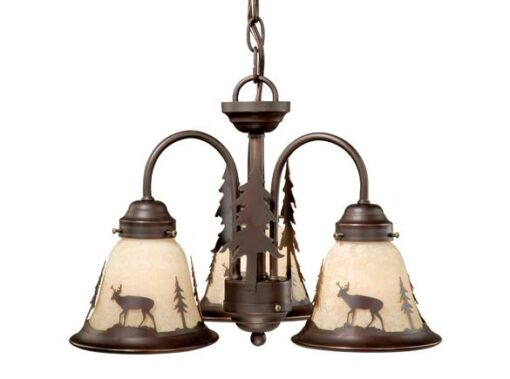 Bryce 3L Light Kit Burnished Bronze - Deer