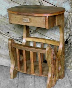 Rustic Magazine Racks