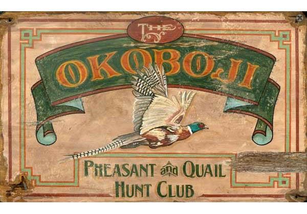 Custom Vintage Hunting Signs