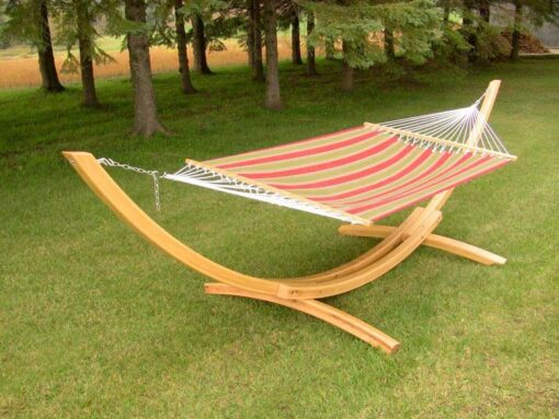 15ft Arc Hammock Stand - Cypress Wood