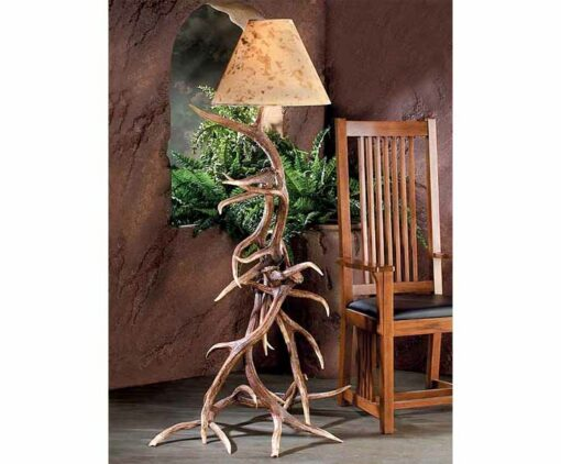 Elk Antler Floor Lamp