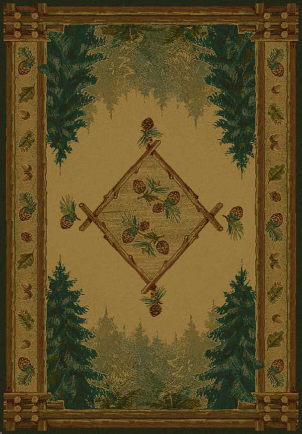 Forest Trail Lodge Rug