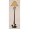 Iron 3-Fishing Pole Floor Lamp