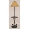 Iron 3-Fishing Pole Table Lamp