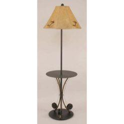 Iron 3-Fishing Pole Table Lamp