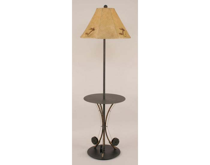 3 fishing pole table lamp iron 3 fishing pole table lamp mozeypictures Gallery