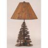 Iron Bear Lamp w/ Trees
