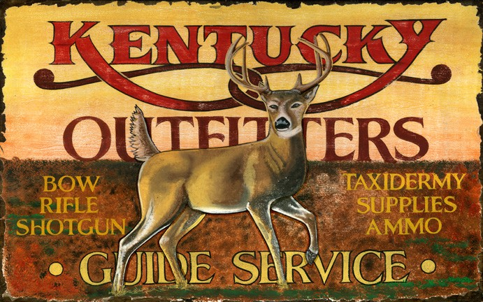 Kentucky Outfitters Vintage Sign