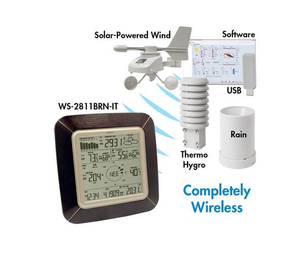 La Crosse Professional Weather Station - Brown