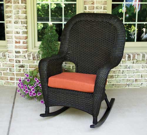 Lexington Rocker - Tortoise Wicker