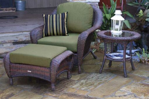 Lexington Club Chair, Ottoman, and End Table